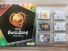 Panini euro 2004 04 * kit completo en blanco álbum ** Loose set Empty álbum