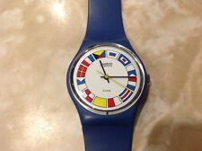 Vintage Swatch Twelve Flags GS101 Men's Women's Watch