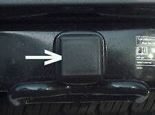 "Universal Class V 2 1/2"" 2.5"" Heavy Duty Black Trailer Hitch Receiver Cover Plug"