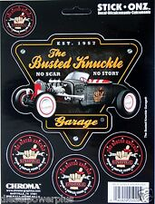 busted knuckle garage repair & despair under roof sticker decal tool box car