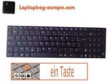 Taste Ersatztaste Tastatur - ASUS X52J X52JC X52JE X52JK - Typ Chiclet Schwarz