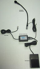 TAXI DESK BASE MICROPHONE HANDS FREE KIT FOR MOTOROLA,KENWOOD,ICOM,HYTERA,TAIT