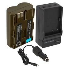New BP-511A Battery + Charger for Canon PowerShot G1 G2 G3 Optura 10 20