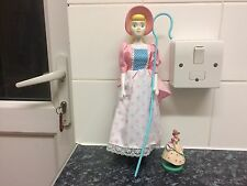 "Rare original Disney store Toy Story Bo Peep doll ""12 & small toy figure"