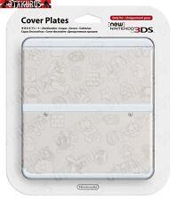 # 23 Blanca carácter patrón Placa de cubierta Nuevo Nintendo 3ds Oficial artículo Japón