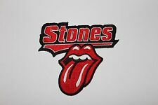 CLASSIC ROLLING STONES LOGO EMBROIDERED PATCH MICK JAGGER KEITH RICHARDS