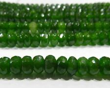 Lots 5x8mm Faceted Multi-Color Gemstone Abacus Rondelle Loose Beads 15""