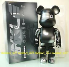 Bearbrick Medicom 2015 Unkle Davdreaming Black & Silver 400% Be@rbrick