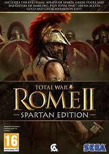 ROME II 2 TOTAL WAR SPARTAN EDITION EN CASTELLANO NUEVO Y PRECINTADO PC