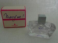 Rare Miniature de parfum MARRY ME ! de  LANVIN EDP 4,5ml - Plein  + boite