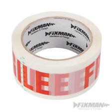 Fixman 1 Rolle Paketband Paketklebeband PP-Packband Fragile 48mm x 66m 191480