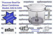 Braun Food Processor Bowl - 7051144 67051144 BR67051144 7322010204  - 3202, 3205
