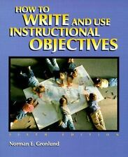 How to Write and Use Instructional Objectives (6th Edition)-ExLibrary