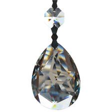 """10 Clear Crystal Prism Drop Glass For Chandelier Lamp Parts 3.7"""""""