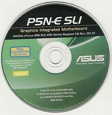 ASUS P5N-E SLi Motherboard Drivers Installation Disk M1017
