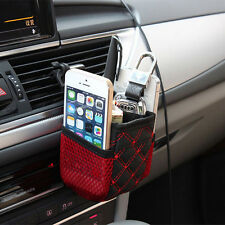 Auto Car Accessory Hanging Bag Drinks Phones Pocket Holders Storage Organizer