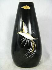 Schöne50er Jahre Design GEROLD  Porzellan porcelian Vase Paradiesvogel  6607  II