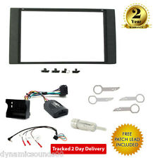 CT24FD18 Car Stereo Double Din Fascia Steering Interface Kit For Ford Focus MK2