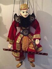 Large hand made magician marionette puppet from Burma / Myanmar