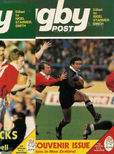 RUGBY POST Aug 1983 ENGLAND MAGAZINE