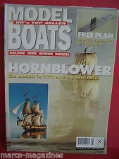 MODEL BOATS VOL 48 # 575 1998 SPOOK SUBMARINE PLAN MELITA  GATCOMBE FIRE TUG