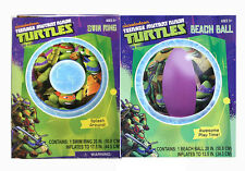 Teenage Mutant Ninja Turtles KIDS Swimming Ring Tube Float + Pool Beach Ball 3+