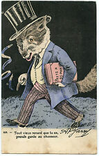 ILLUSTRATEUR AP.JARRY.RENARD.LA FINANCE.FOX.