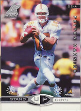 1998 PINNACLE INSIDE PEYTON MANNING ROOKIE LEAF 22AB PROMO!! RARE! FREE SHIP!