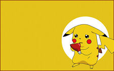Pikachu Pokemon Yellow Huge Poster 22 inch x 34 inch ( Fast Shipping )
