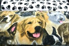 Pug German Shepherd Boston Terrier Double Side Pet Blanket Can Personalize 28x22
