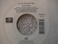 """98 DEGREE'S """"GIVE ME JUST ONE NIGHT"""" / """"I DO"""" (CHERISH YOU) 7"""" 45 2000 MINT"""
