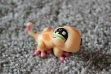 Littlest Pet Shop Orange Lizard #1365 Peach Gecko LPS Animal Girls Toy Hasbro