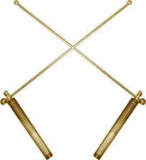 DIVINING DOWSING rods metal pendulum brass healing  aurameter Divination