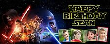 Star Wars PERSONALISED PARTY BANNER Birthday, Christening