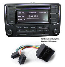 Autoradio RCN210+Kabel BLUETOOTH CD MP3 USB AUX SD VW GOLF TOURAN JETTA  POLO CC