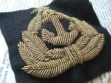 Soviet Merchant Fleet Captain Hand Made Embroidered Cap Cockade 198x