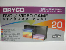Bryco DVD Rack storage for Microsoft Xbox 360 game case