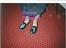 DONNY OSMOND WITH SLIPPERS CANADA JOSEPH BACKSTAGE 1993 RARE UNSEEN PHOTO 8X12 A