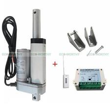 "2"" 12V DC Linear Actuator Motor Kit W/ Remote Control+Bracket for  Electric Sofa"