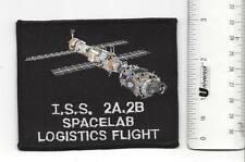 NASA ISS  2A 2B Spacelab Logistics Patch In new condition