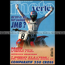 MOTO VERTE N°212-b JORDI TARRES JEAN-MICHEL BAYLE HONDA CR 250 SUZUKI RM 1991