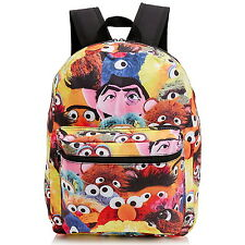 NEW OFFICIAL Sesame Street Characters Classic Backpack / Rucksack / School Bag