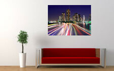 CITY LIGHTS TOKYO NEW GIANT LARGE ART PRINT POSTER PICTURE WALL