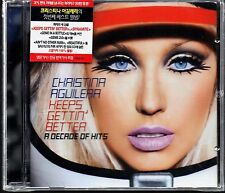 Christina Aguilera - Keeps Gettin` Better : A Decade Of Hits [1CD Ver.]CD Sealed