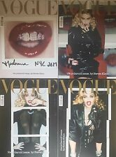 VOGUE ITALIA February 2017 MADONNA by Steven Meisel BUNDLE 4 COVERS NEW