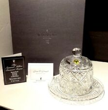 *NEW* Waterford Society Crystal SAMUEL MILLER (2000) Covered Dessert Dome Signed