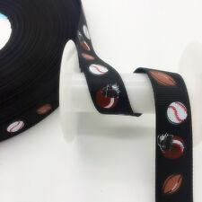 DIY 5 Yards 3/4'(20mm)Wide Sewing Printed Grosgrain Ribbon Hair Bow Sewing SKT59