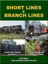 Short Lines & Branch Lines DVD NEW Ironton Chestnut Ridge Lehigh Valley Bath
