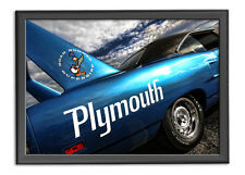 1970 Plymouth Road Runner Superbird Photo Print 13x19 Mancave Art 426 HEMI 440