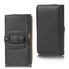 Pouch Holster Leather Belt Clip Case Cover for LG G3 D850 for AT&T